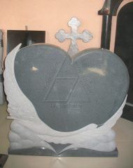 Carved G654 granite monuments, good designed by our customer in Russia.Welcome your enquiry.