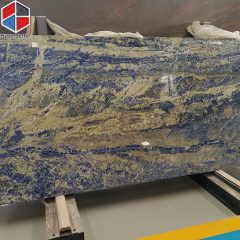 New design China blue quartz slab (1)