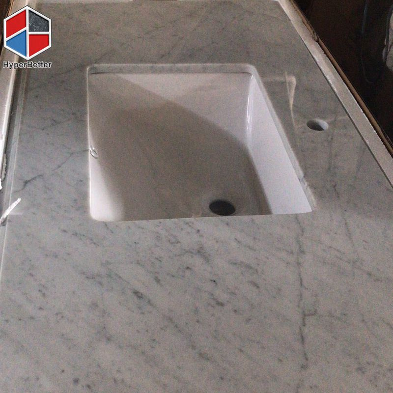 carrara vanity top