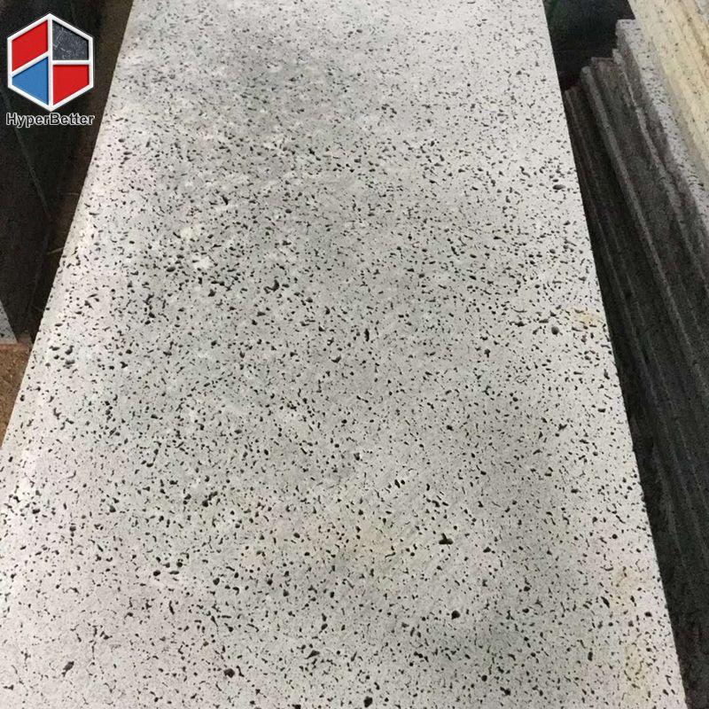 Big hole grey basalt tile (3)