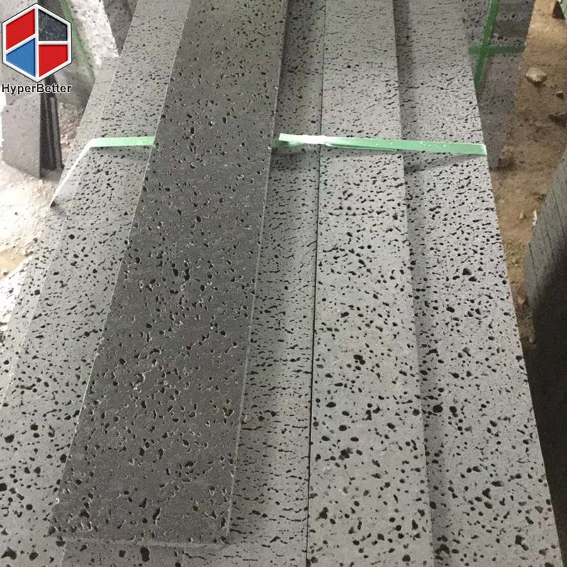 Big hole grey basalt tile (4)