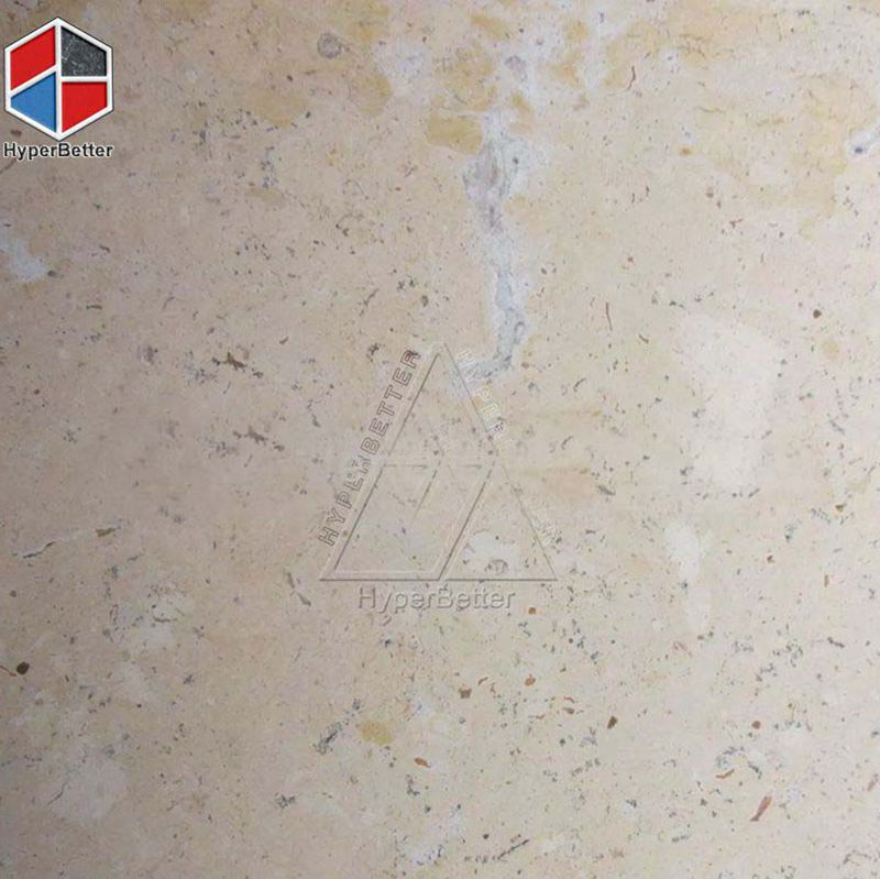 Honed yellow sandstone