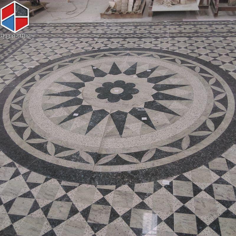 square granite medallion-10