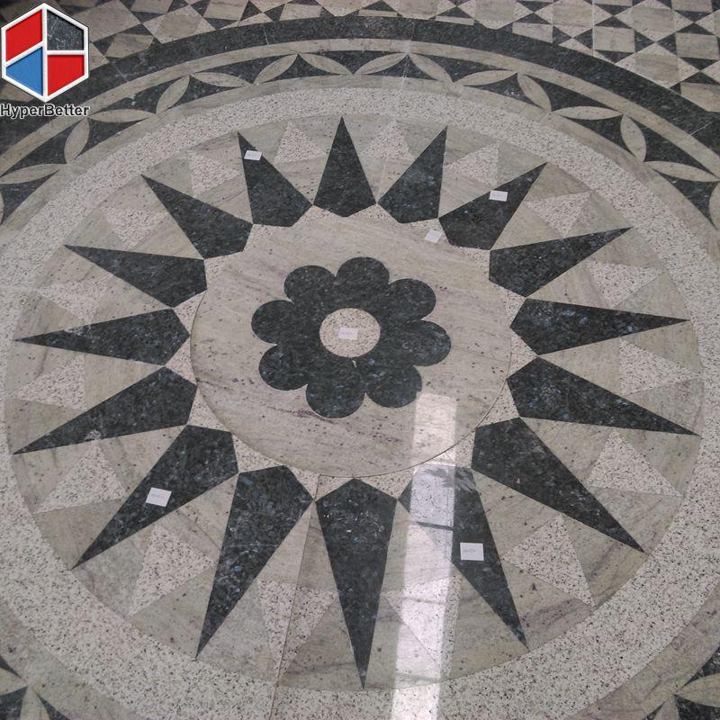 square granite medallion-9