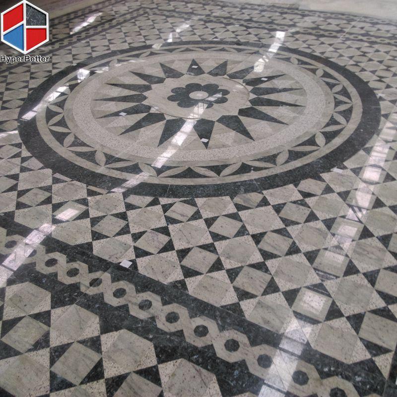 square granite medallion-2