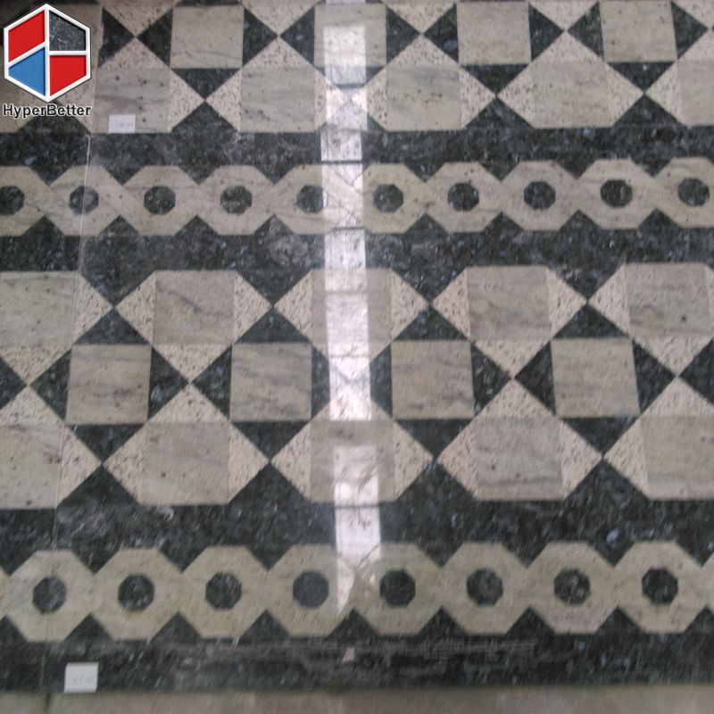 square granite medallion-1