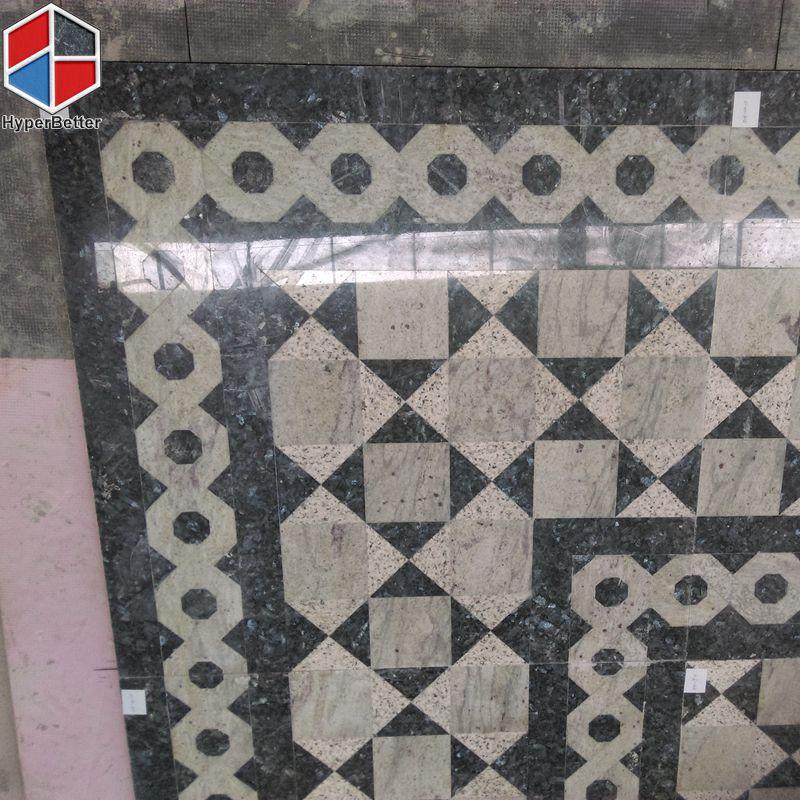 square granite medallion
