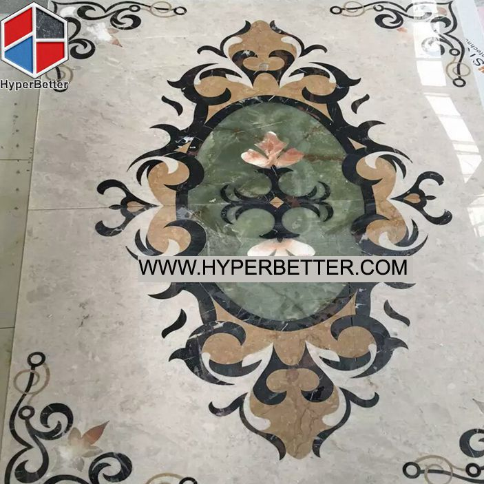 Marble-mixed-onyx-waterjet-medallion (1)