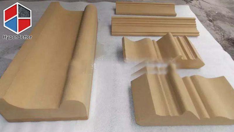 Yellow sandstone door frame (1)