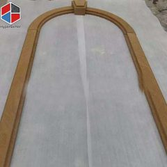 Yellow sandstone door frame