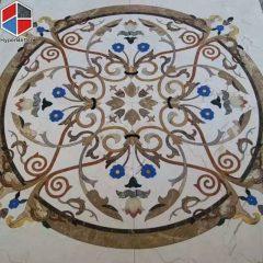 Western style marble medallion