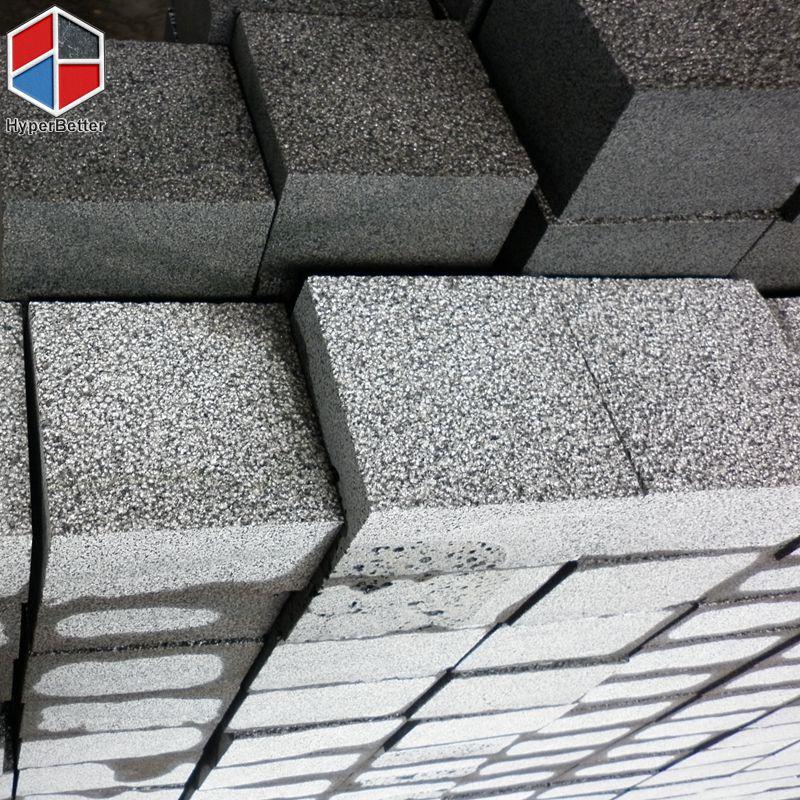 Bush-hammered black basalt cubics (1)