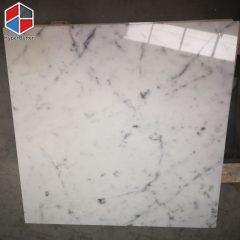 Carrara white marble tiles (8)