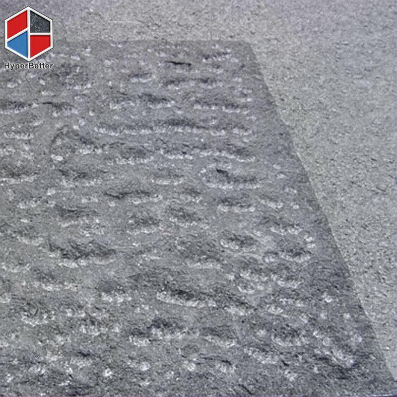 Chiseled basalt paving stone