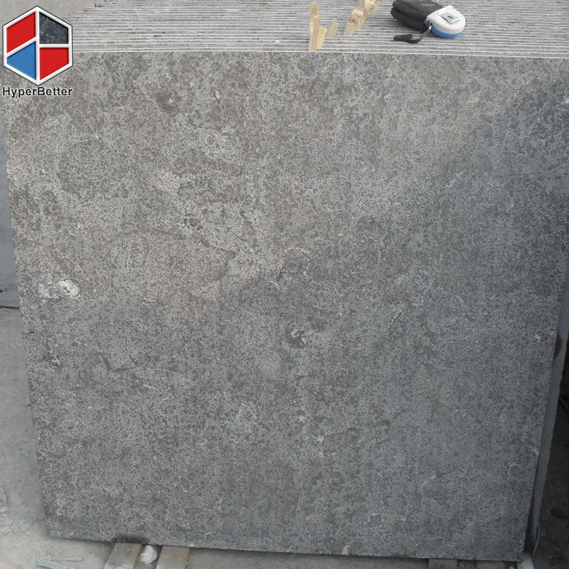 Flamed grey basalt slab (1)