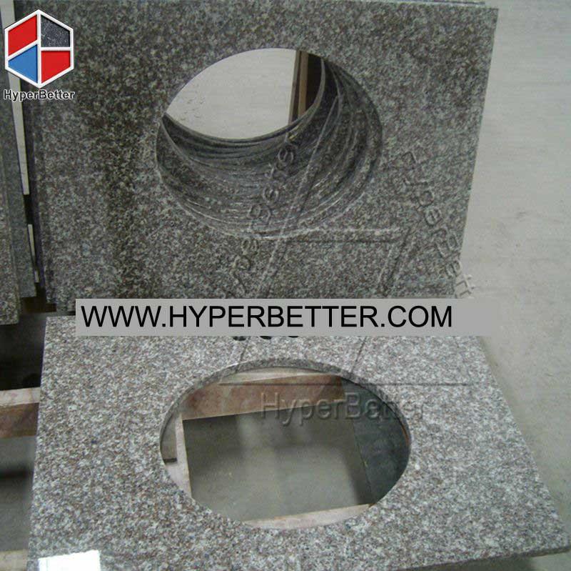 G664 granite vanity top