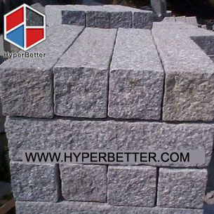 G681 pineapple granite paving stone