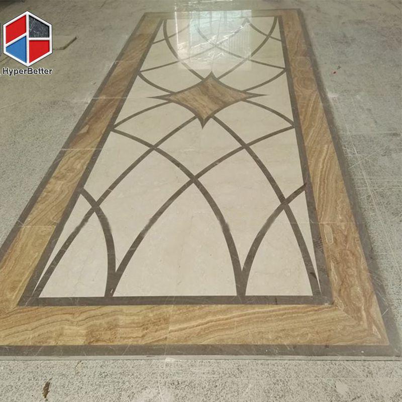 Golden-wood-marble-waterjet-flooring-tiles (1)