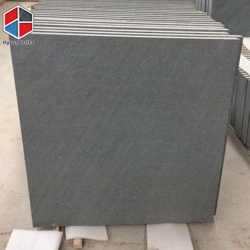 Honed grey basalt tiles (5)
