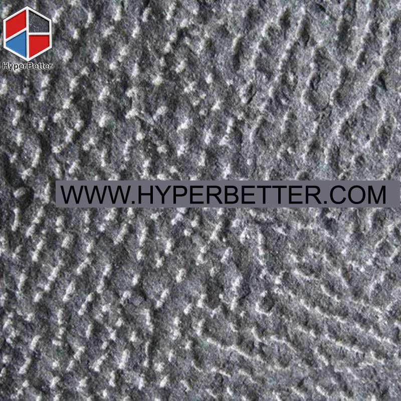 Pineapple surface black basalt