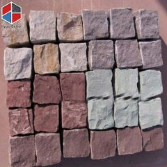 Red porphyry cube
