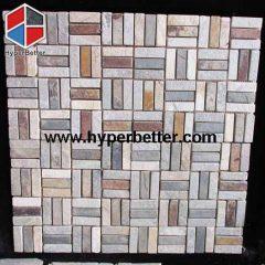 Slate veneer tiles
