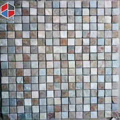 Small size slate mosaic