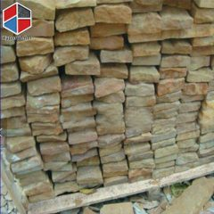 yellow sandstone paving stone
