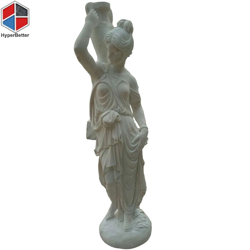 Eastern style women marble sculpture