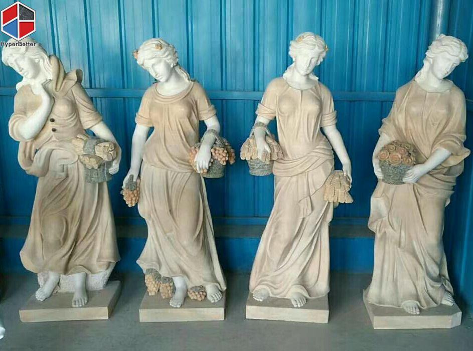 Female marble sculpture (1)