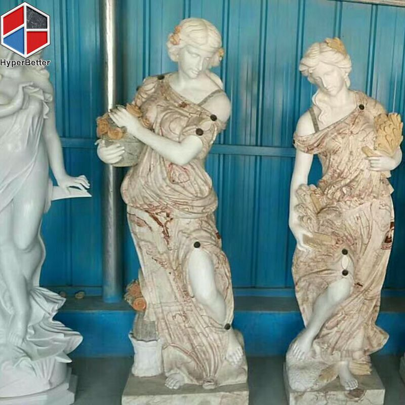Female marble sculpture (2)