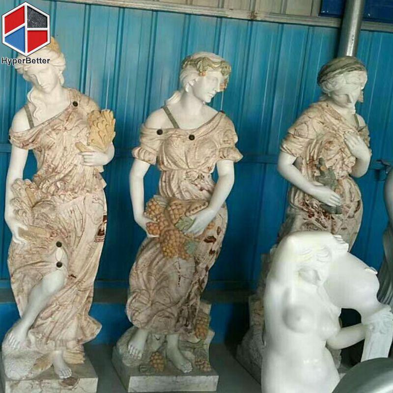 Female marble sculpture (3)