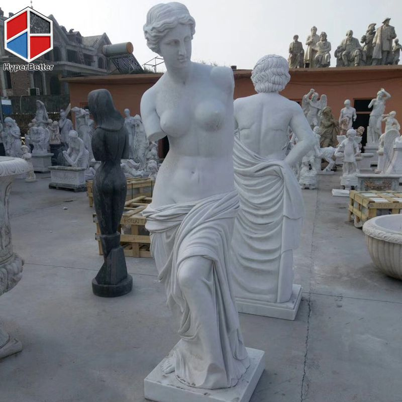 White nude woman statue