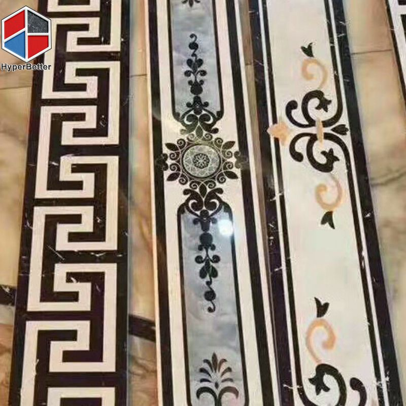 Western style marble borders (1)