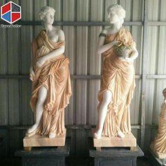 Colours marble women sculpture (1)